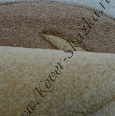 Ковер Super Vizion brown dark beige (1378a f4k68)